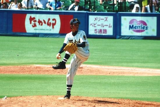 佐々木和也 高校野球エース時代