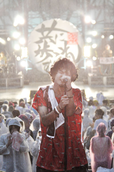 LIFriends「チョーやべーTOUR2014 全国羽村化計画」8月10日東京・日比谷野外大音楽堂