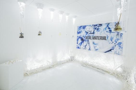 オーガニックコスメブランド「VITAL MATERIAL」展示会