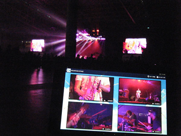 「Live Multi Viewing」カメラ切り替え
