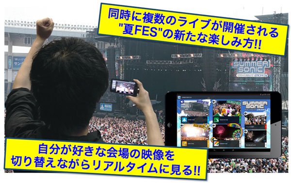 「Live Multi Viewing」イメージ画像