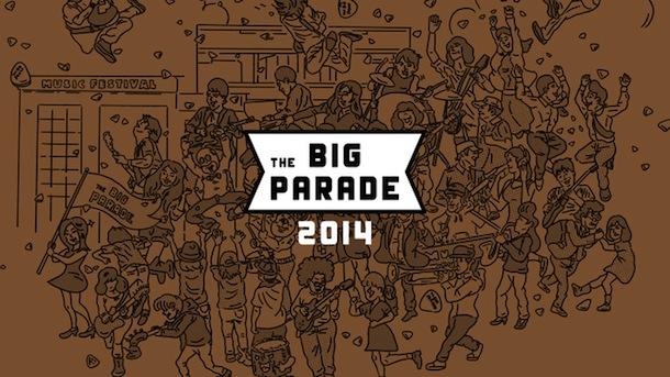 「THE BIG PARADE」キービジュアル