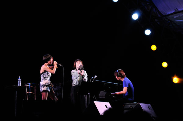 「Slow Music Slow LIVE 14」中納良恵、Salyu、小林武史