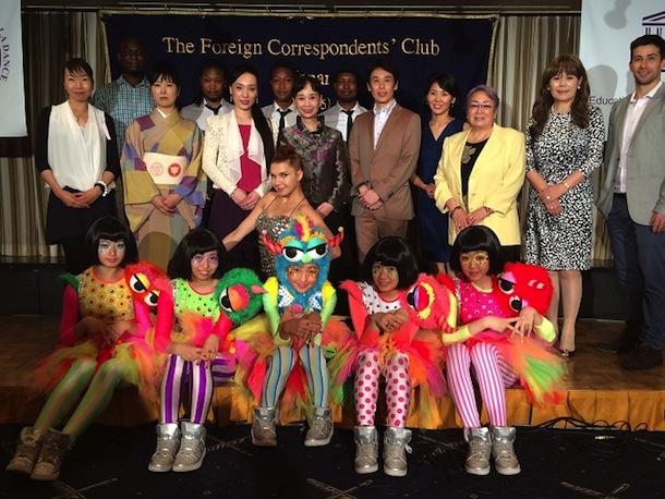 「CIDユネスコ 第38回ワールドダンスコングレス2014」アジア初開催記念、記者パーティー TEMPURA KIDZ