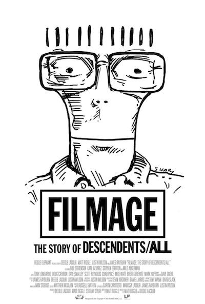 映画『FILMAGE:THE STORY OF DESCENDENTS/ALL』キーアート
