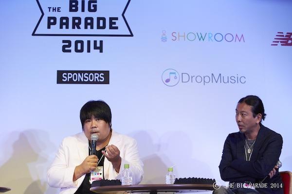 THE BIG PARADE 2014 トークセッション「日本発!レーベルとマネジメントの両輪による世界征服」