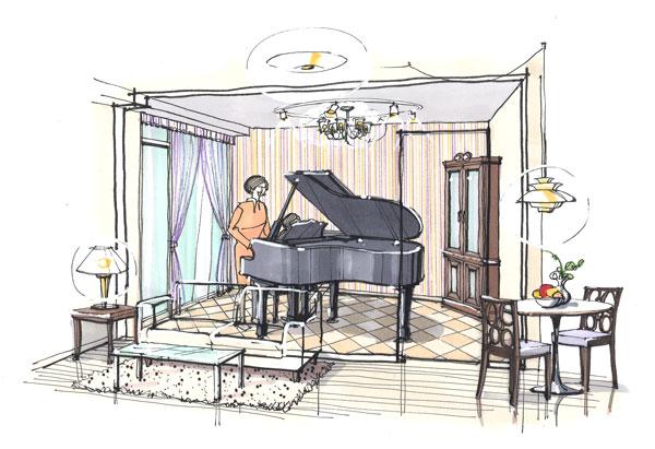 『レリアモード豪徳寺』ピアノ教室イメージ