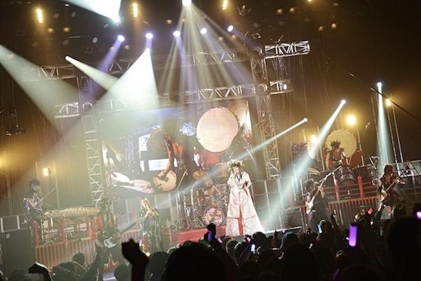 和楽器バンド 大新年会ライブ 1月7日 渋谷公会堂3