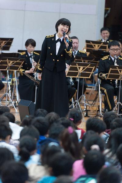 海上自衛隊東京音楽隊/三宅由佳莉 西東京市立碧山小学校