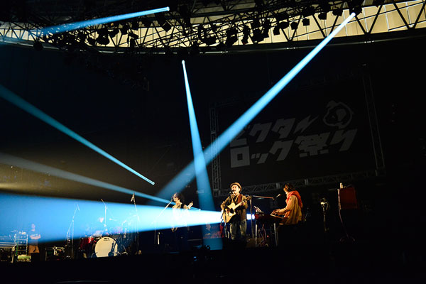 ハナレグミ「ビクターロック祭り~2015~」2014年3月14日(土)幕張メッセ