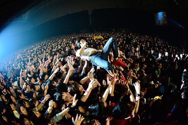 キュウソネコカミ「ビクターロック祭り~2015~」2014年3月14日(土)幕張メッセ