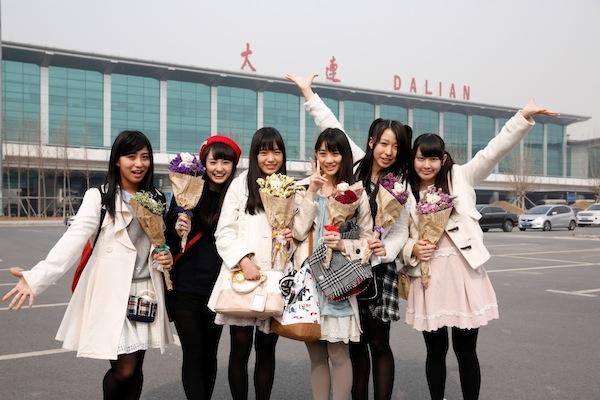 チームしゃちほこ、初の海外パフォーマンスが中国・大連で実現