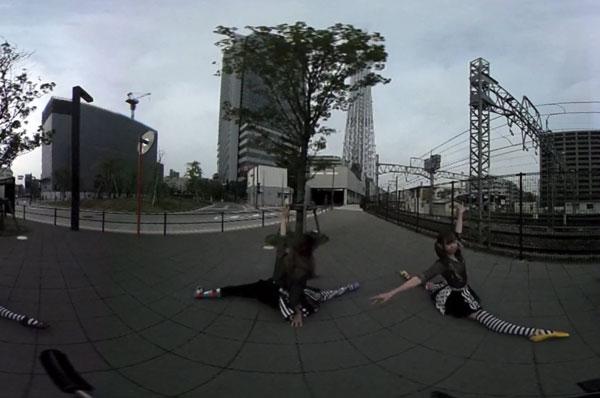 カラーポワント ダンスプロジェクト「TOKYO360°」