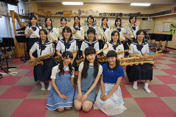 私立恵比寿中学 精華女子高等学校吹奏楽部