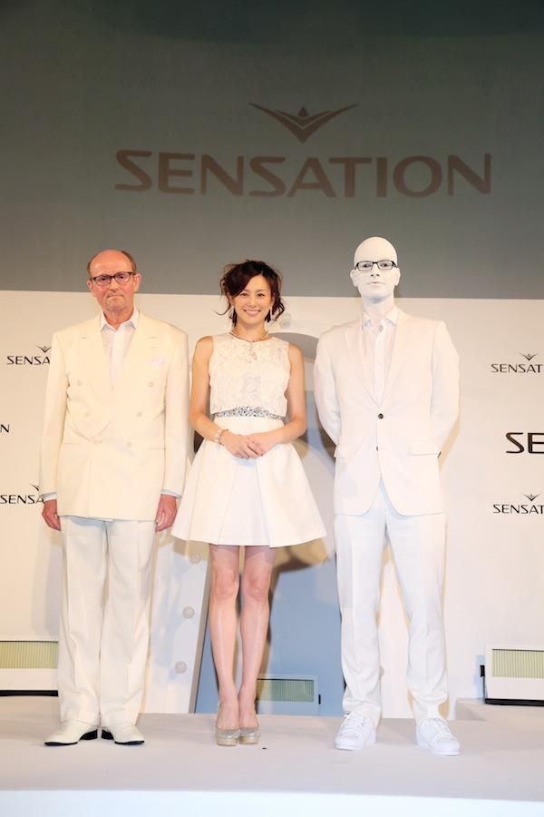 日本初上陸「SENSATION」PRESS CONFERENCE