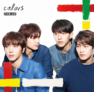 CNBLUE「colors」BOICE限定盤
