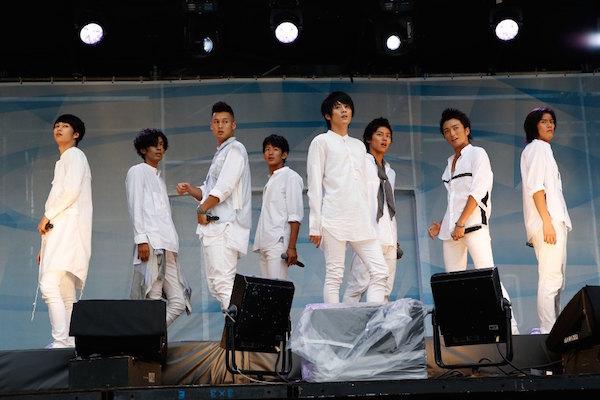 a-nation stadium fes.東京公演 8月29日 SOLIDEMO