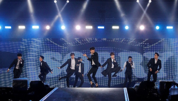 a-nation stadium fes.東京公演 8月29日 SUPER JUNIOR