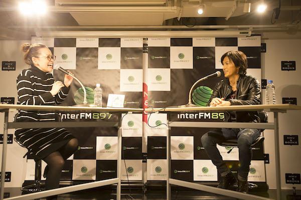 11月19日 HMV&BOOKS TOKYO オープニングイベント Bz・稲葉浩志