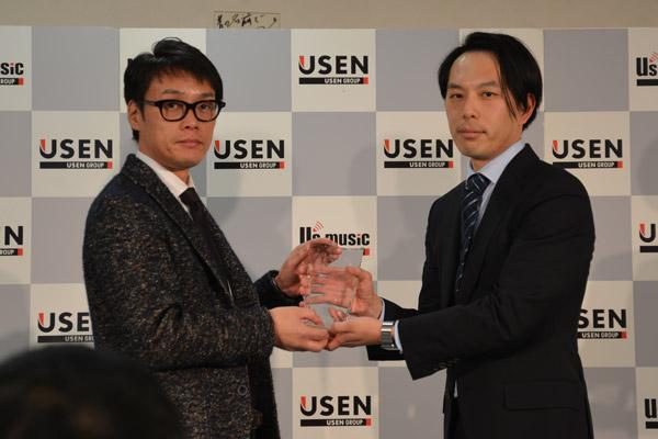 「2015年間USEN HITランキング」表彰式