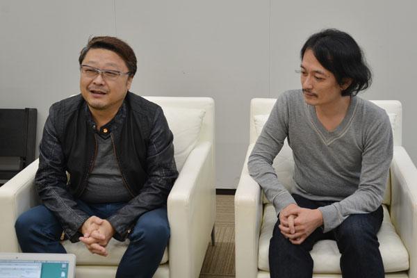 アレンジャー CHOKKAK氏、ソニー・ミュージックレーベルズ 灰野氏