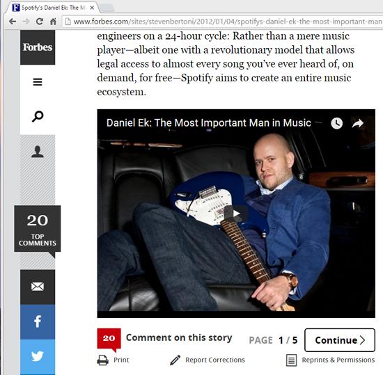 連載第59回 スティーブ・ジョブズが世界の音楽産業にもたらしたもの(11)〜Spotifyの誕生