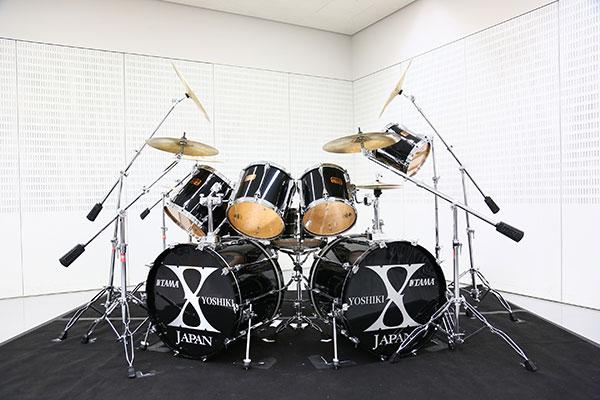 YOSHIKI スペシャルドラムセット チャリティーオークション
