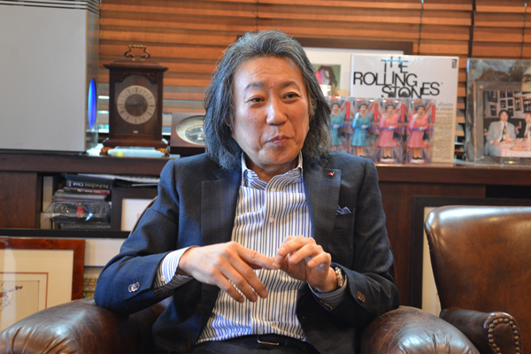 永田 友純 氏 (株)ホットスタッフ・プロモーション 代表執行役員 会長兼社長