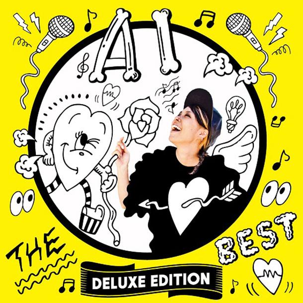 AI ベストアルバム「THE BEST - DELUXE EDITION」
