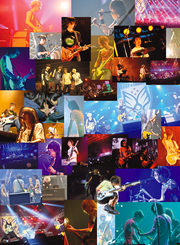bump of chicken ライブbd dvdのアートワークはバンドの歴史を振り返る