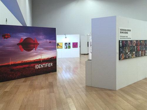 田島自身の作品展「田島照久の全仕事展」が2016年4月2日から5月8日まで九州芸文館にて開催された