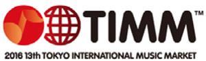 第13回東京国際ミュージック・マーケット(TIMM)ロゴ