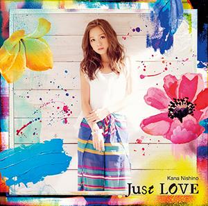西野カナ「Just LOVE」通常盤