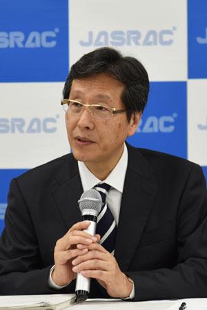 日本音楽著作権協会(JASRAC)浅石道夫理事長
