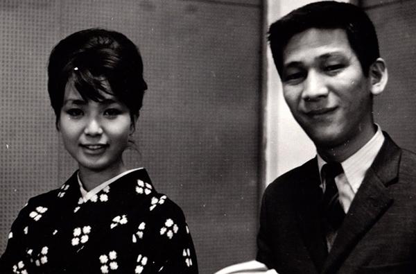 小松政夫&園まり 1966年写真