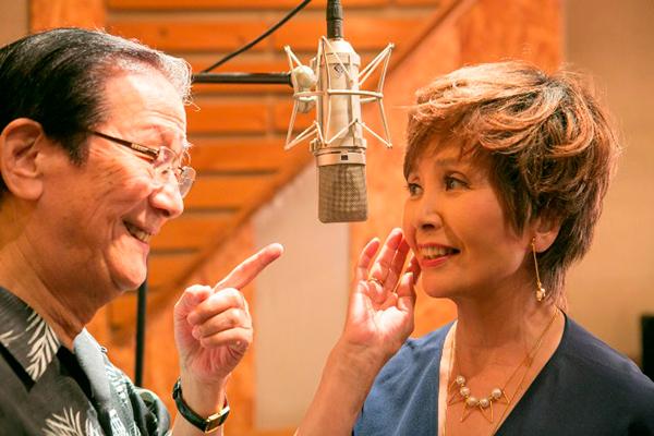 小松政夫が最初で最後のCDデビュー、園まりと公開レコーディング2