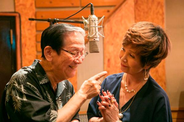 小松政夫が最初で最後のCDデビュー、園まりと公開レコーディング3