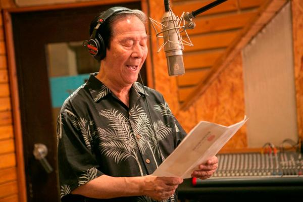 小松政夫が最初で最後のCDデビュー、園まりと公開レコーディング4