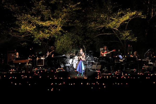 奈良 春日大社 第六十次式年造替奉祝「Misia Candle Night Live」ライブ写真2
