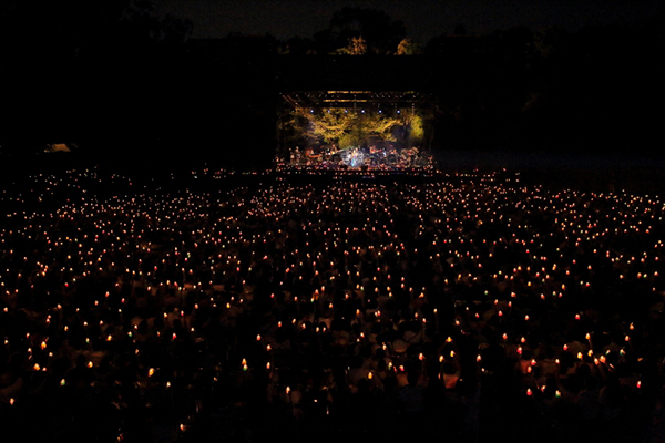 奈良 春日大社 第六十次式年造替奉祝「Misia Candle Night Live」ライブ写真3