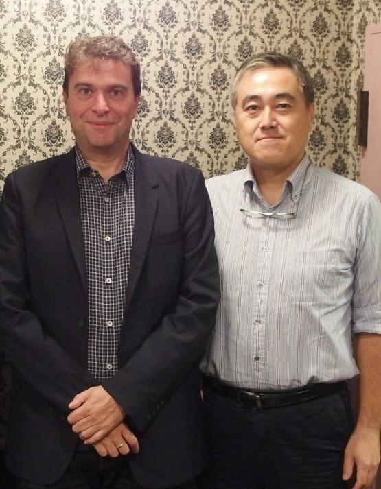 マーリン本社 CEO:チャールズ・カルダス(Charles Caldas)、日本事務所 ゼネラルマネージャー 谷口 元