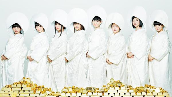 白無垢姿の私立恵比寿中学