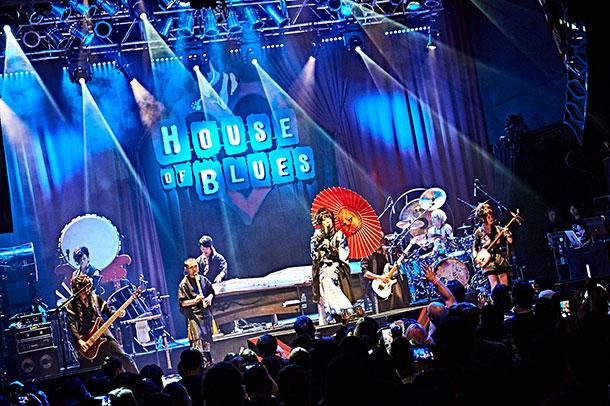 和楽器バンドLIVE DVD/Blu-ray「WagakkiBand 1st US Tour 衝撃 -DEEP IMPACT-」