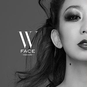 倖田來未「W FACE〜outside〜」