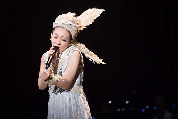 MISIA「THE TOUR OF MISIA LOVE BEBOP all roads lead to you」大阪城ホール