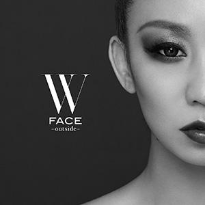 倖田來未 「W FACE~outside~」(AL+BD)