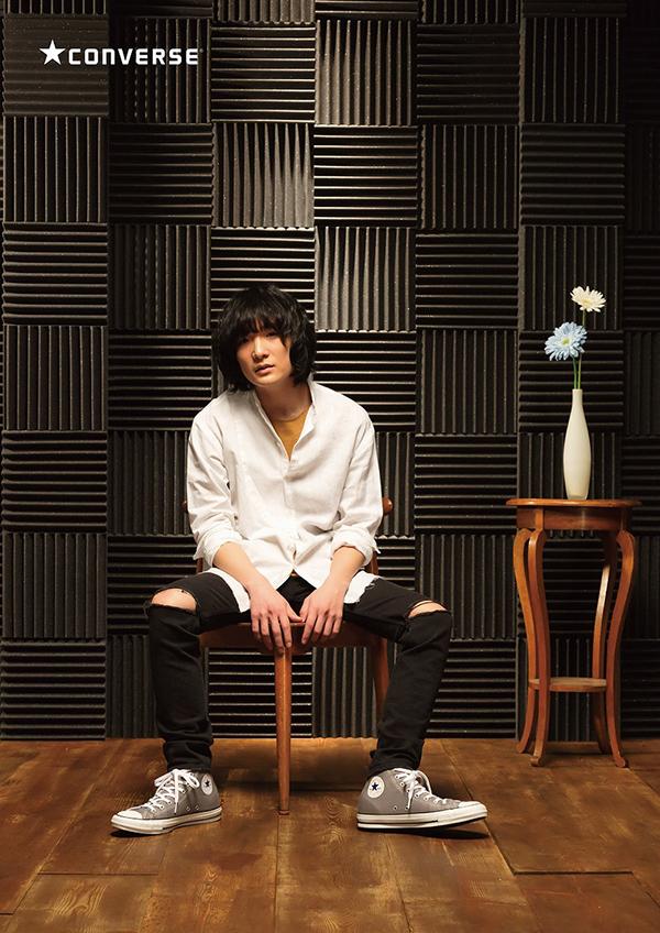 石崎ひゅーい、ABC-MART×コンバースで初のTV-CMに出演