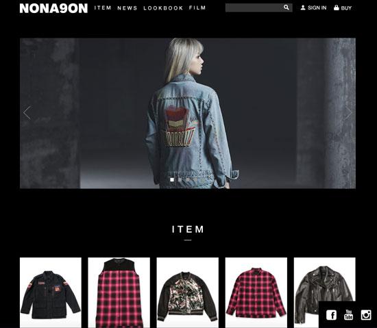 NONAGON オフィシャルサイト