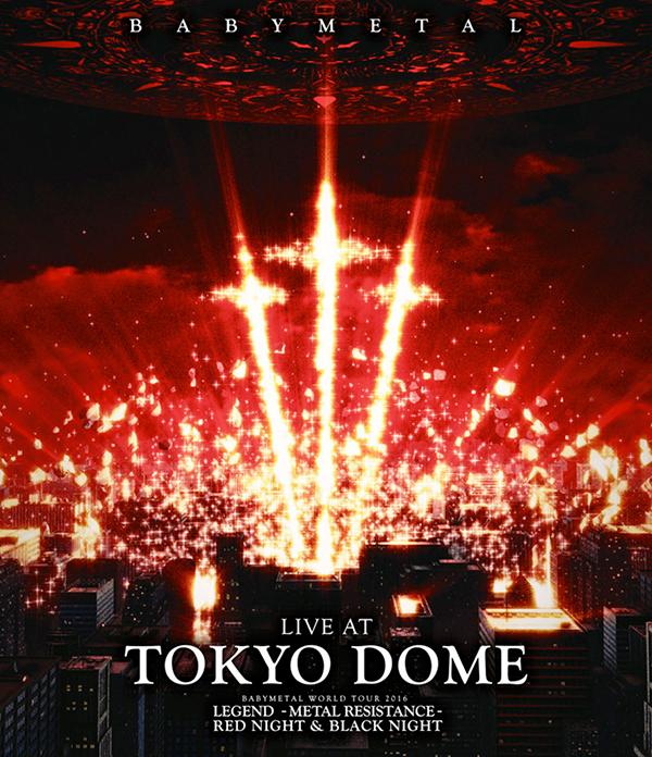 BABYMETAL「LIVE AT TOKYO DOME」通常BD