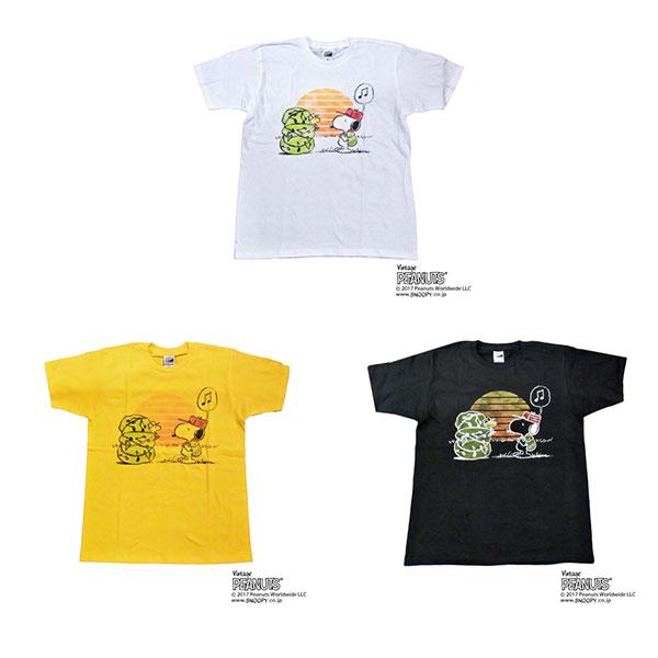 「RSR2017×GAN-BAN Snoopy Tシャツ」